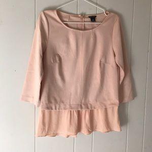 CLUB MONACO 🇲🇨 medium chambray blouse